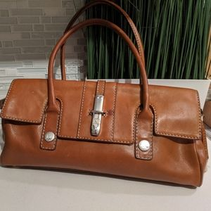 Michael Kors Vintage retro Leather Satchel